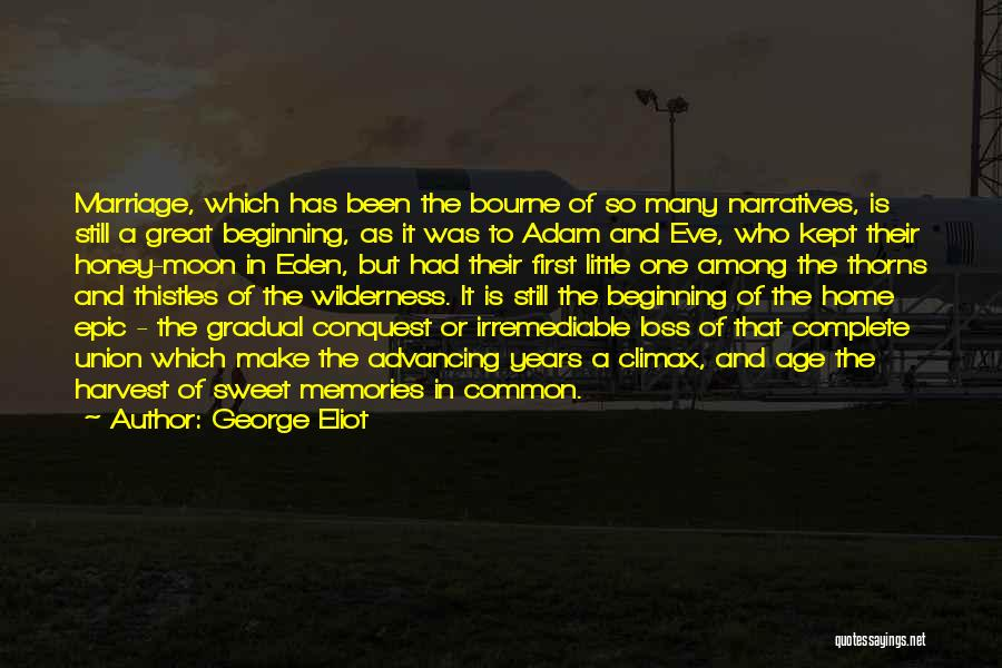 Memories Of Home Quotes By George Eliot