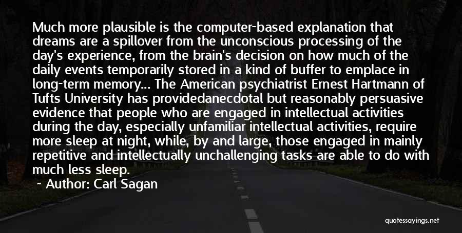 Memory And The Brain Quotes By Carl Sagan