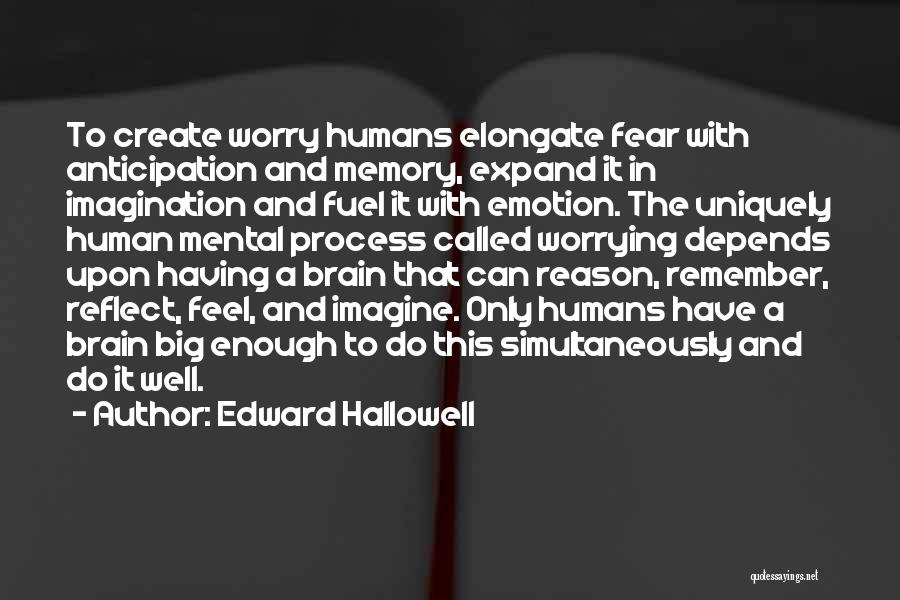 Memory And The Brain Quotes By Edward Hallowell