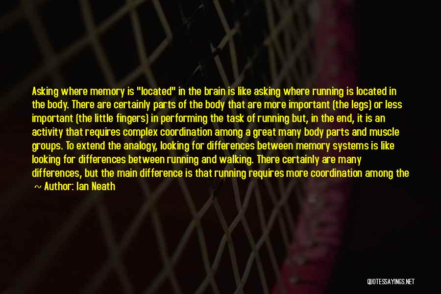 Memory And The Brain Quotes By Ian Neath