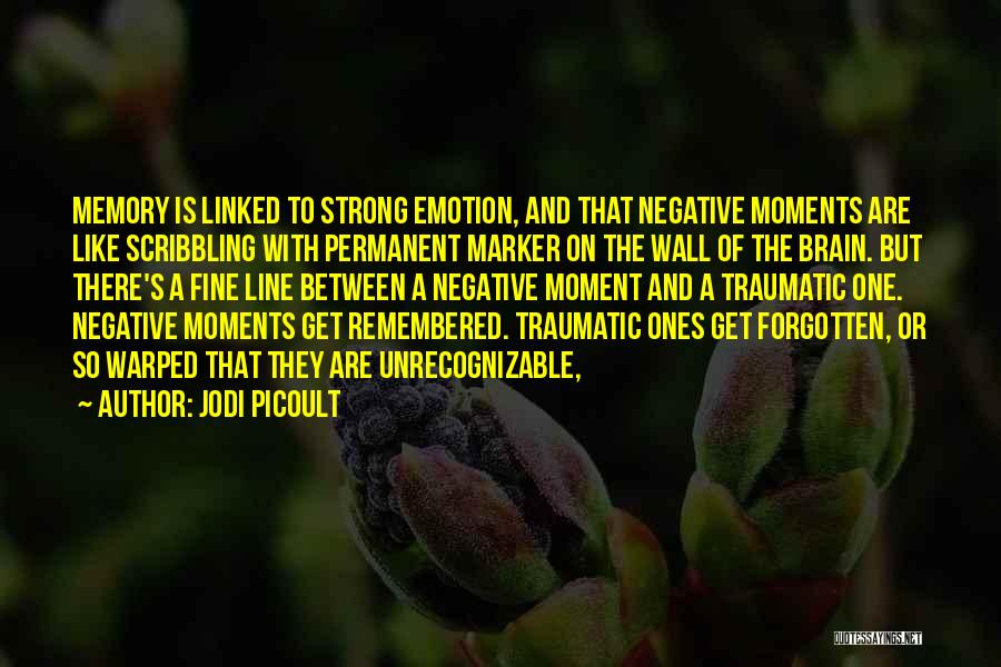 Memory And The Brain Quotes By Jodi Picoult