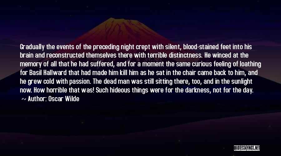 Memory And The Brain Quotes By Oscar Wilde