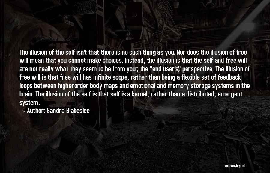 Memory And The Brain Quotes By Sandra Blakeslee