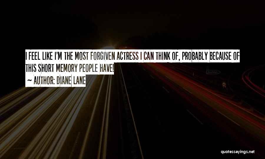 Memory Lane Quotes By Diane Lane