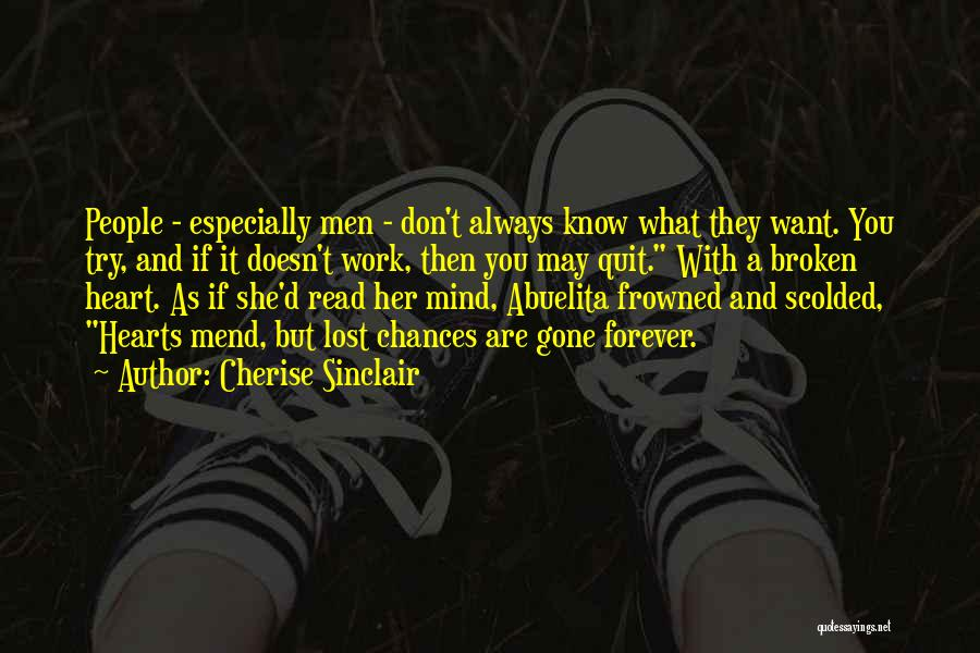 Mend My Heart Quotes By Cherise Sinclair