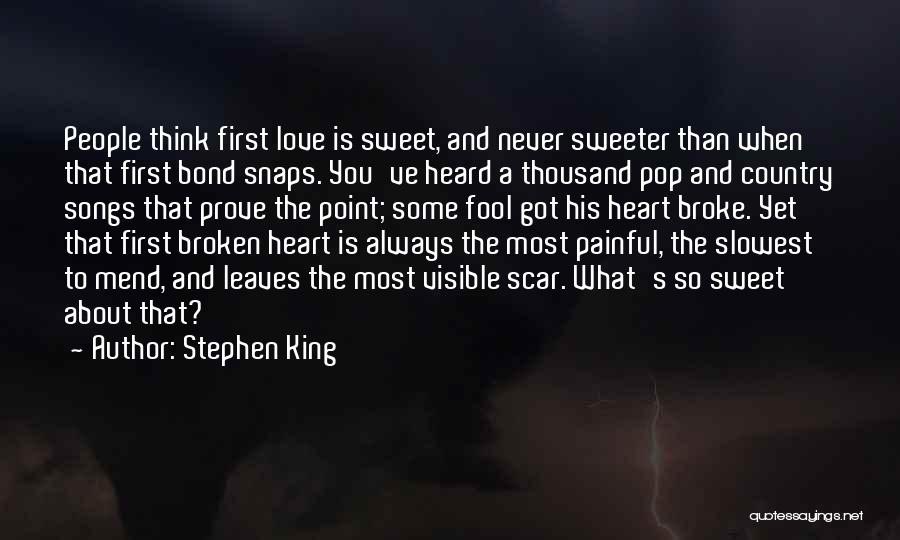 Mend My Heart Quotes By Stephen King