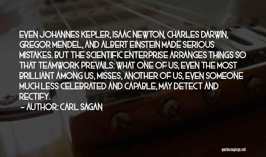 Mendel Quotes By Carl Sagan