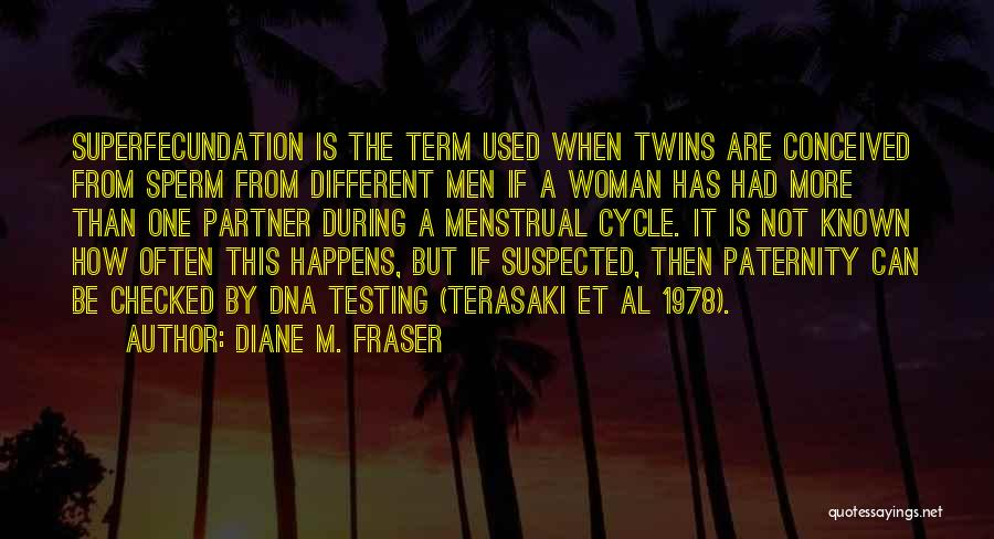 Menstrual Cycle Quotes By Diane M. Fraser