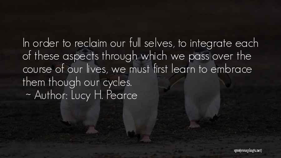 Menstrual Cycle Quotes By Lucy H. Pearce