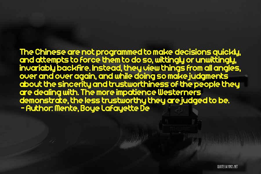 Mente, Boye Lafayette De Quotes 1528202