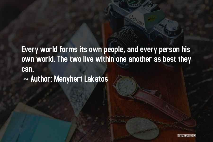 Menyhert Lakatos Quotes 315021