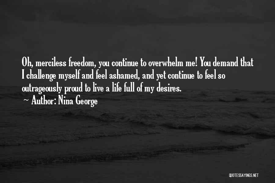 Merciless Life Quotes By Nina George