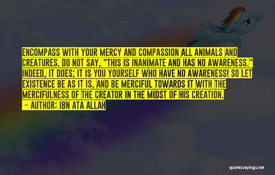 Mercy Of Allah Quotes By Ibn Ata Allah