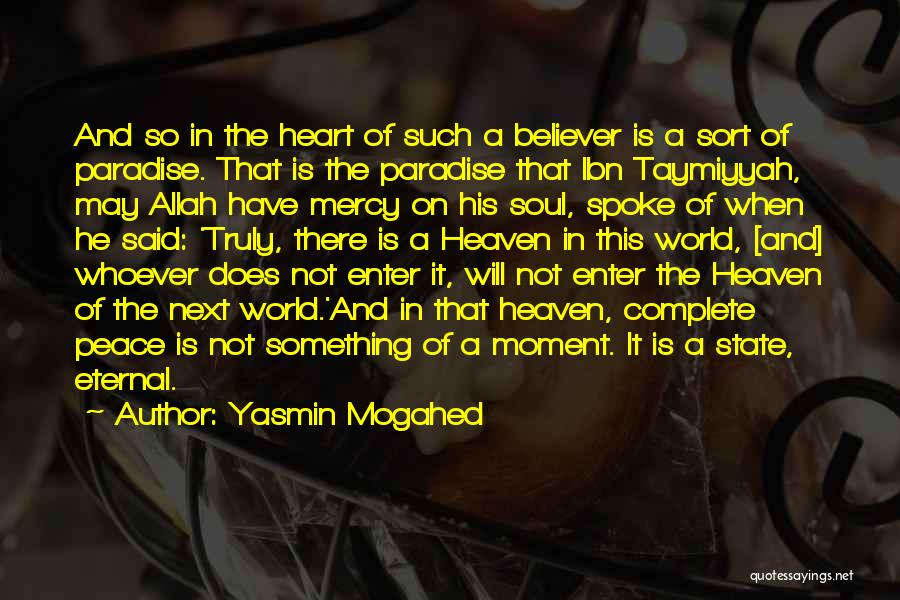 Mercy Of Allah Quotes By Yasmin Mogahed
