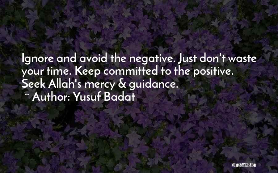Mercy Of Allah Quotes By Yusuf Badat