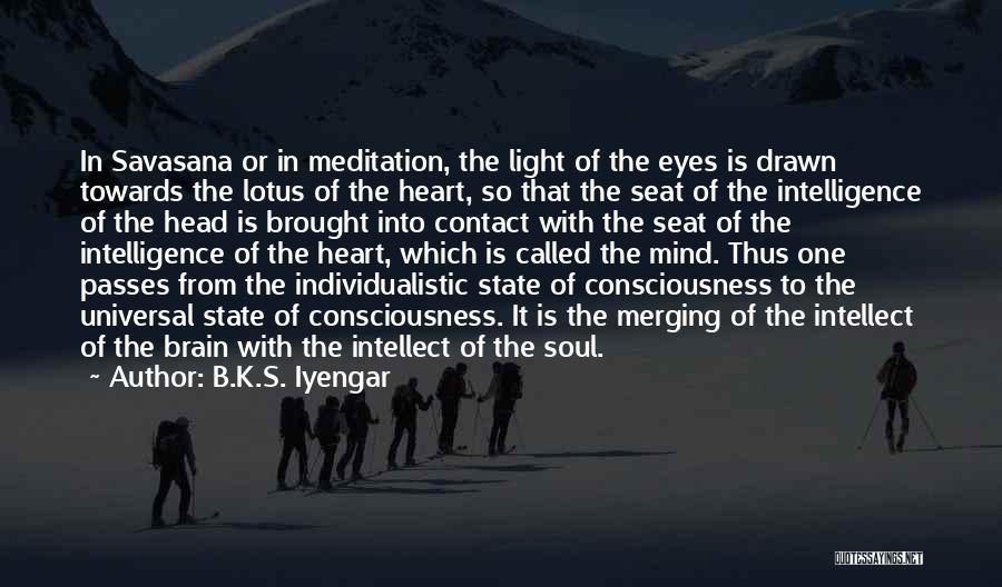 Merging Quotes By B.K.S. Iyengar