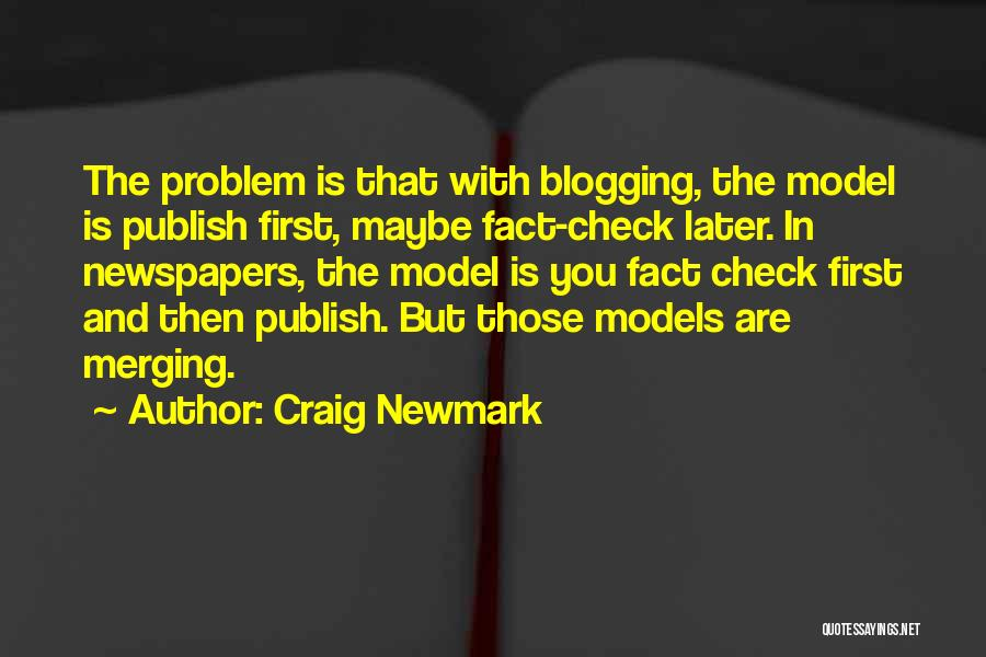 Merging Quotes By Craig Newmark