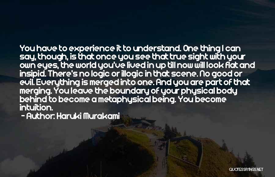 Merging Quotes By Haruki Murakami