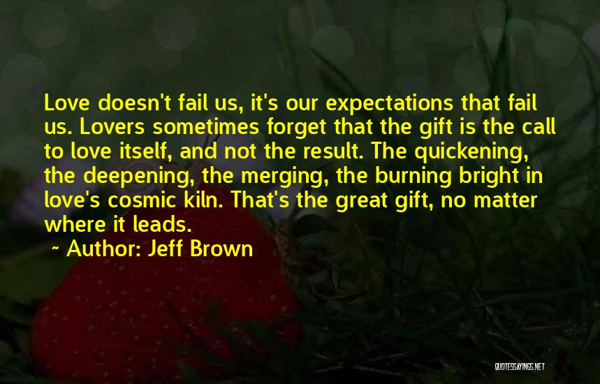 Merging Quotes By Jeff Brown