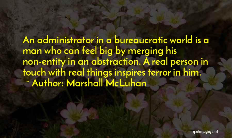Merging Quotes By Marshall McLuhan