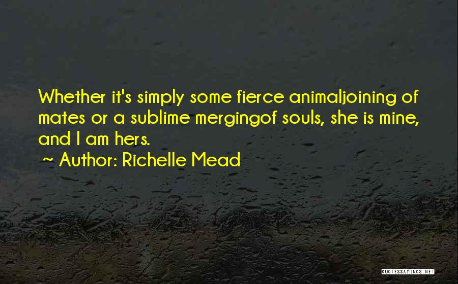 Merging Quotes By Richelle Mead