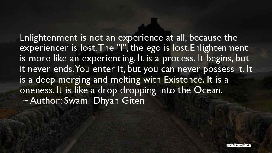 Merging Quotes By Swami Dhyan Giten