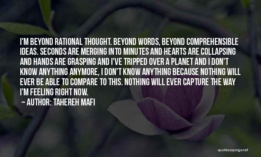Merging Quotes By Tahereh Mafi