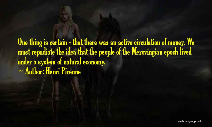 Merovingian Quotes By Henri Pirenne