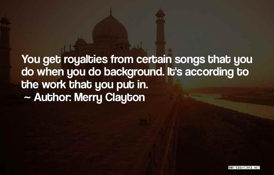 Merry Clayton Quotes 1149137