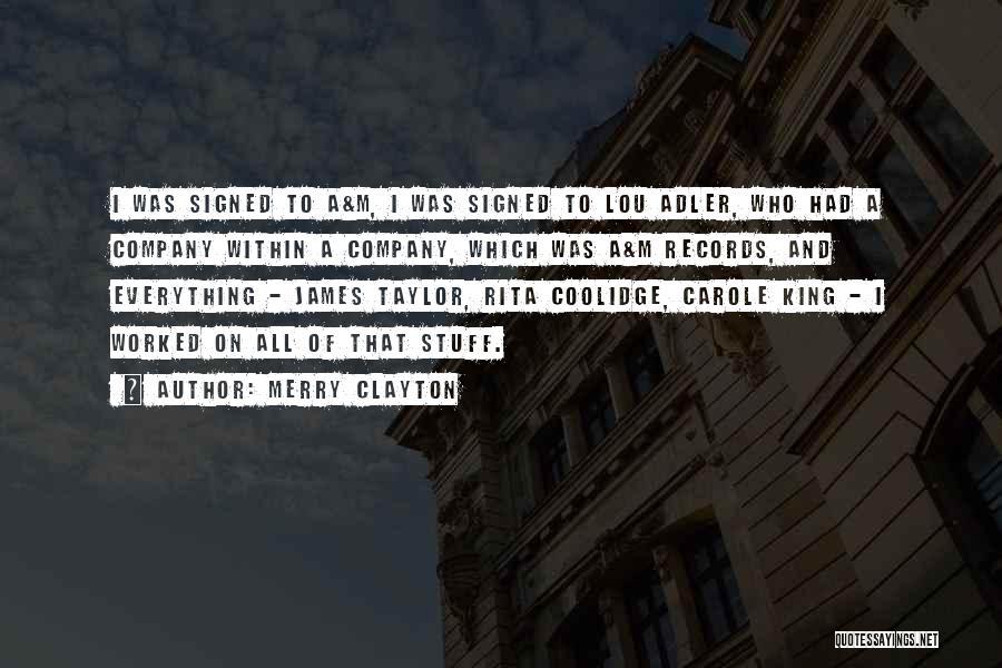 Merry Clayton Quotes 690527