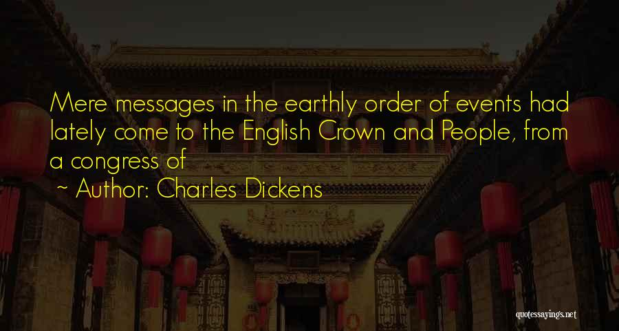 Messages Quotes By Charles Dickens