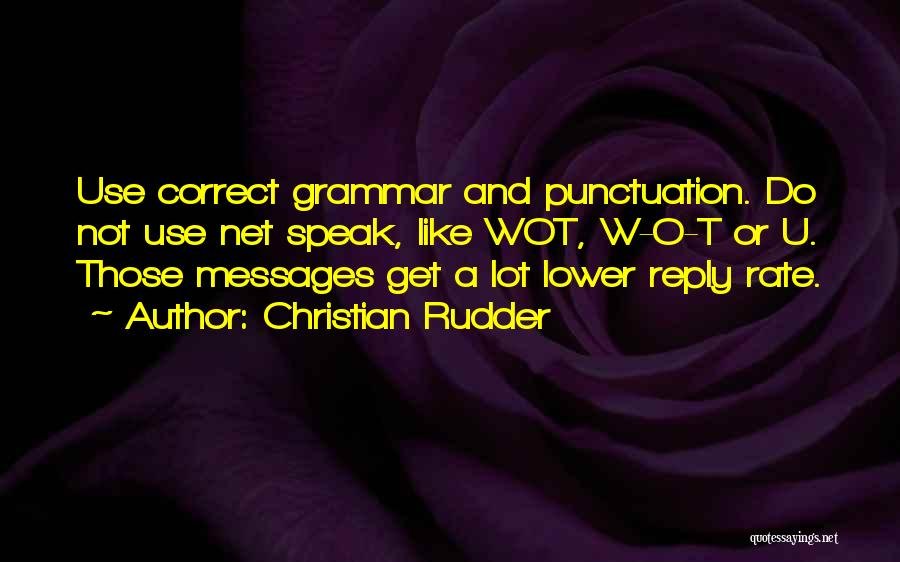 Messages Quotes By Christian Rudder