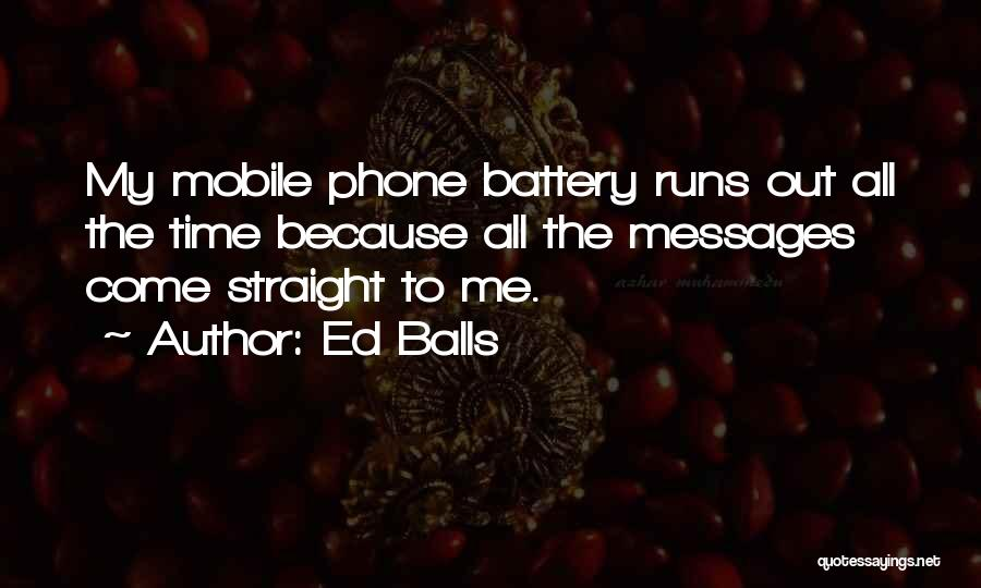 Messages Quotes By Ed Balls
