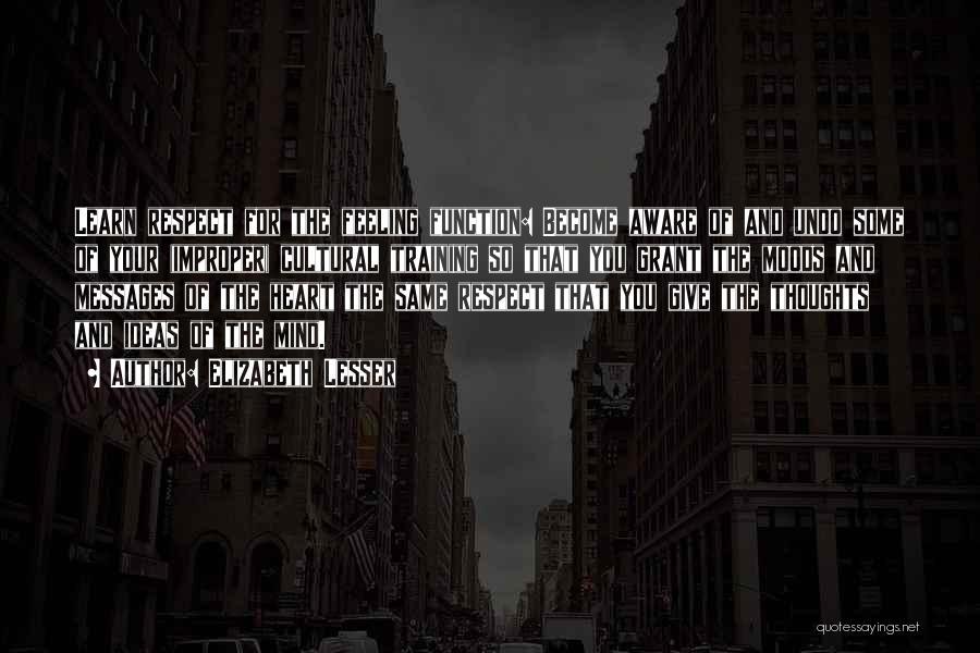 Messages Quotes By Elizabeth Lesser