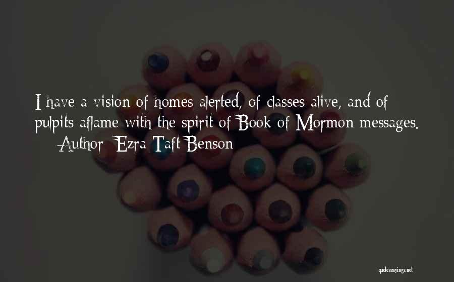 Messages Quotes By Ezra Taft Benson