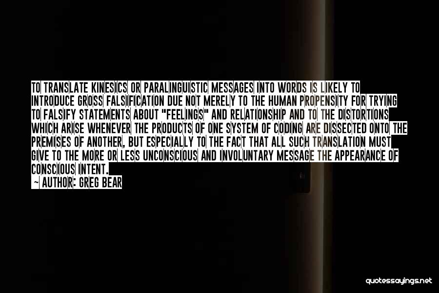 Messages Quotes By Greg Bear
