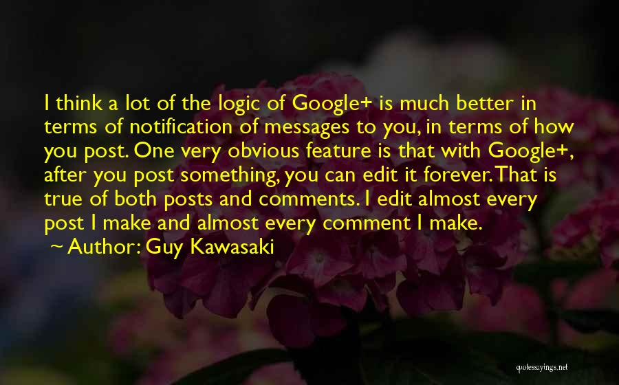 Messages Quotes By Guy Kawasaki