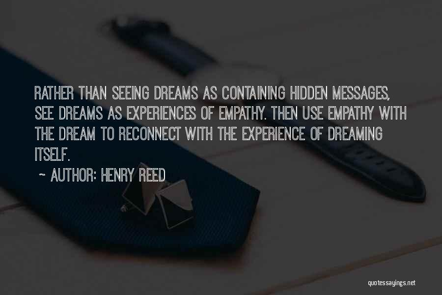Messages Quotes By Henry Reed