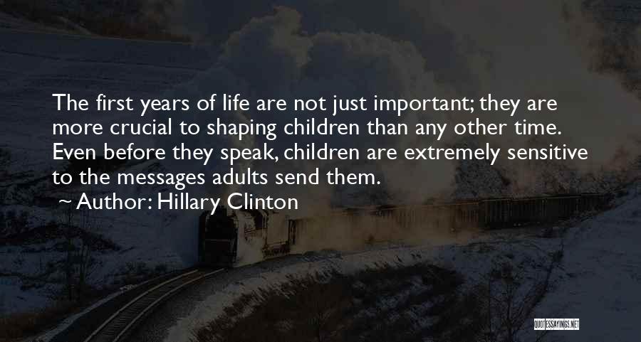 Messages Quotes By Hillary Clinton