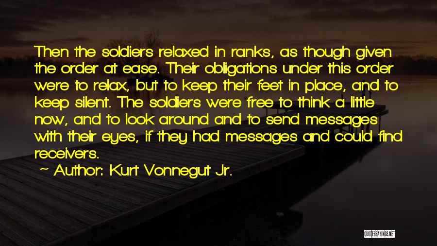 Messages Quotes By Kurt Vonnegut Jr.