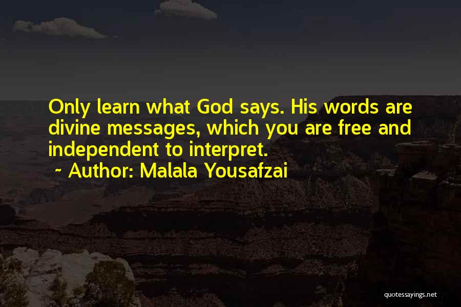 Messages Quotes By Malala Yousafzai
