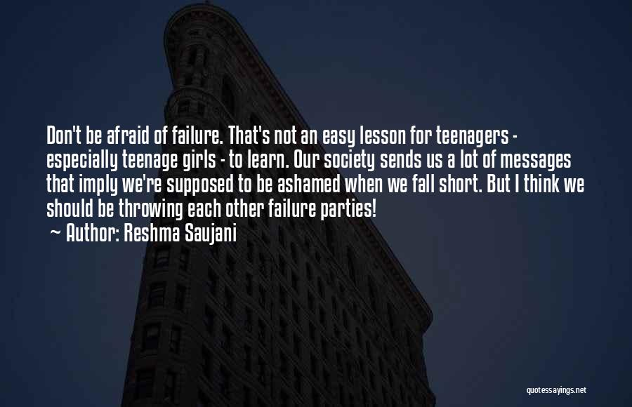 Messages Quotes By Reshma Saujani