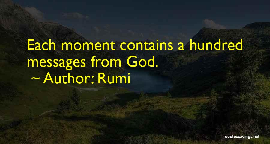 Messages Quotes By Rumi