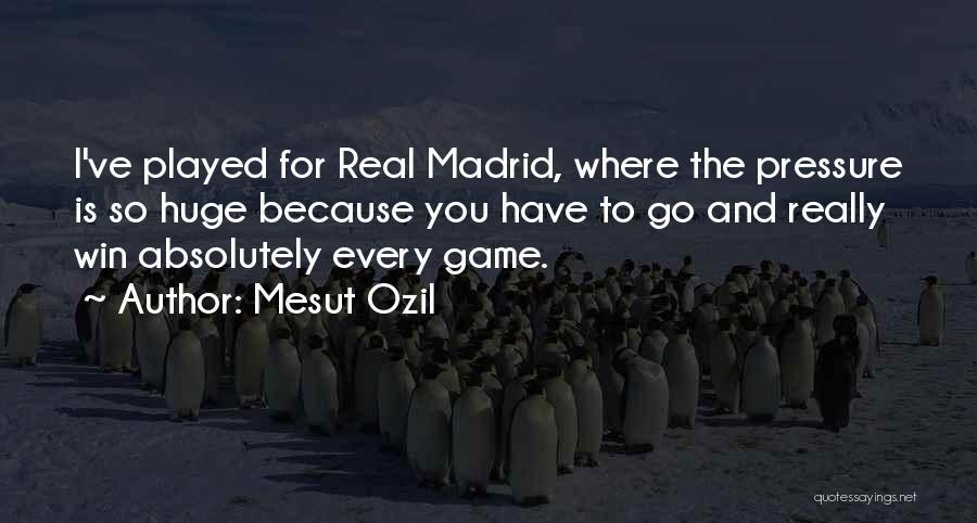 Mesut Ozil Quotes 1779981