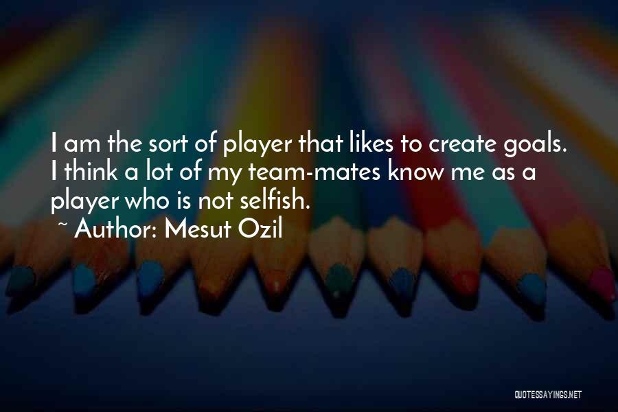 Mesut Ozil Quotes 239459
