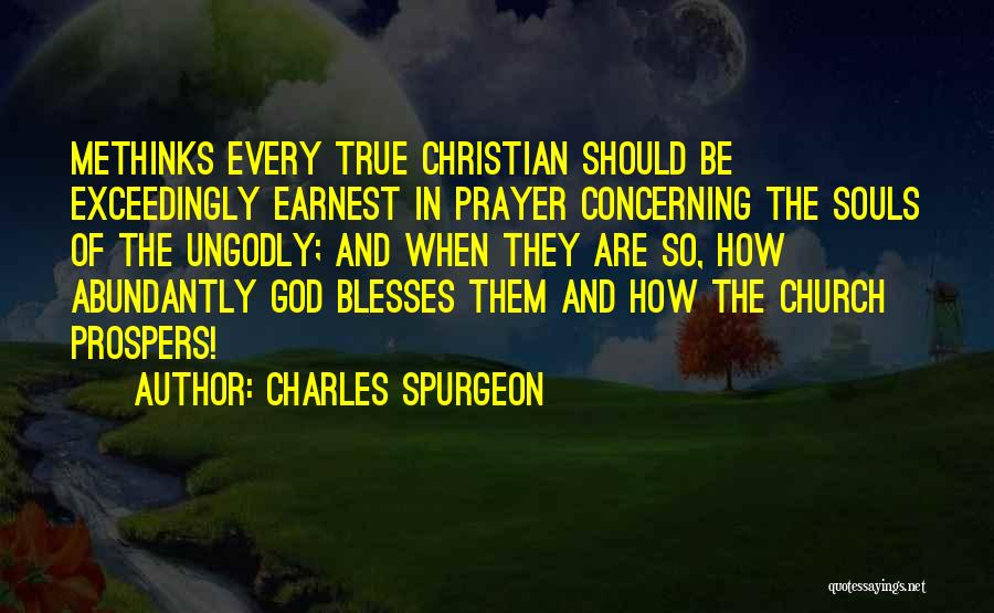 Methinks Quotes By Charles Spurgeon