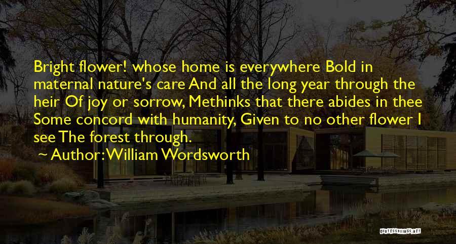 Methinks Quotes By William Wordsworth
