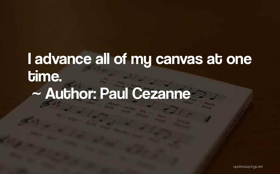 Methodology Quotes By Paul Cezanne