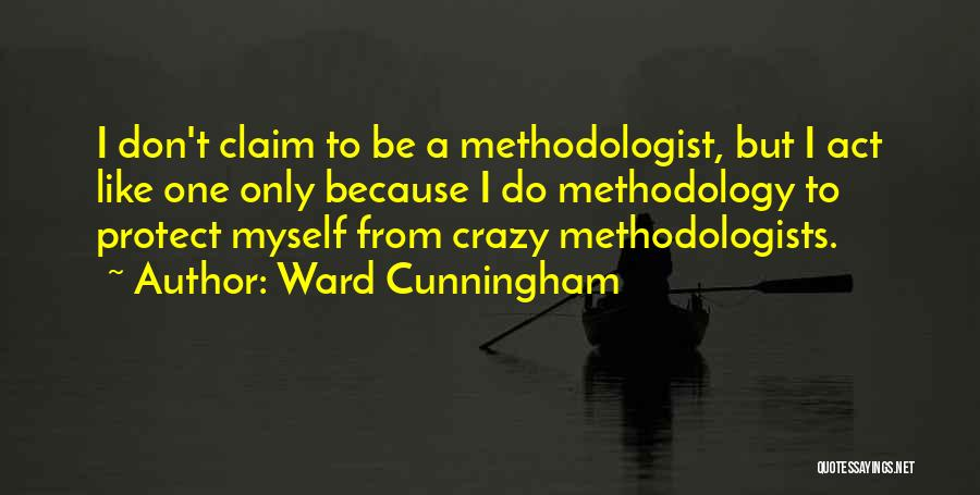 Methodology Quotes By Ward Cunningham
