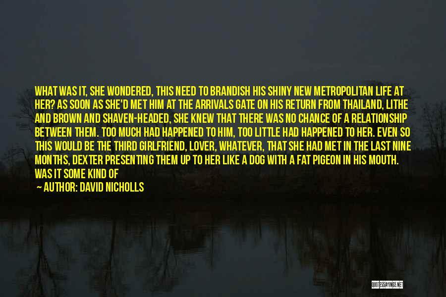 Metropolitan Quotes By David Nicholls